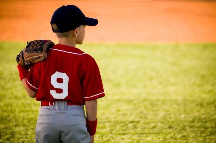 Junior Baseball PLayer